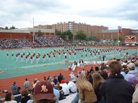 The IUP Marching Band, Homecoming 2002
