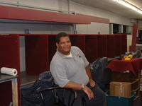 7-6-02, Matt Datcher after helping to build the chairs