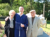 Mike with his grandparents