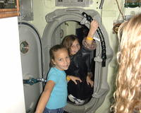 All the girls in the submarine at Carnegie