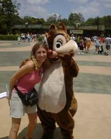 Heather & Chip (or Dale?)