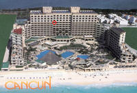 Cancun Palace (our room circled)