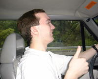 May 28: Mike driving (Pittsburgh)