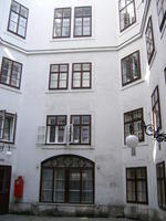 An apartment building that Beethoven once lived in