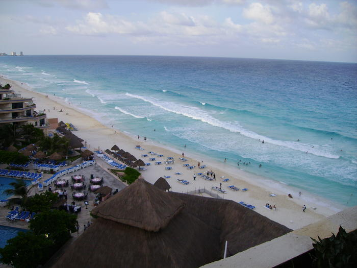 The view from our room.