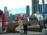 Mike & Heather at Navy Pier