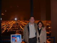 Mike & Heather in Sears Tower